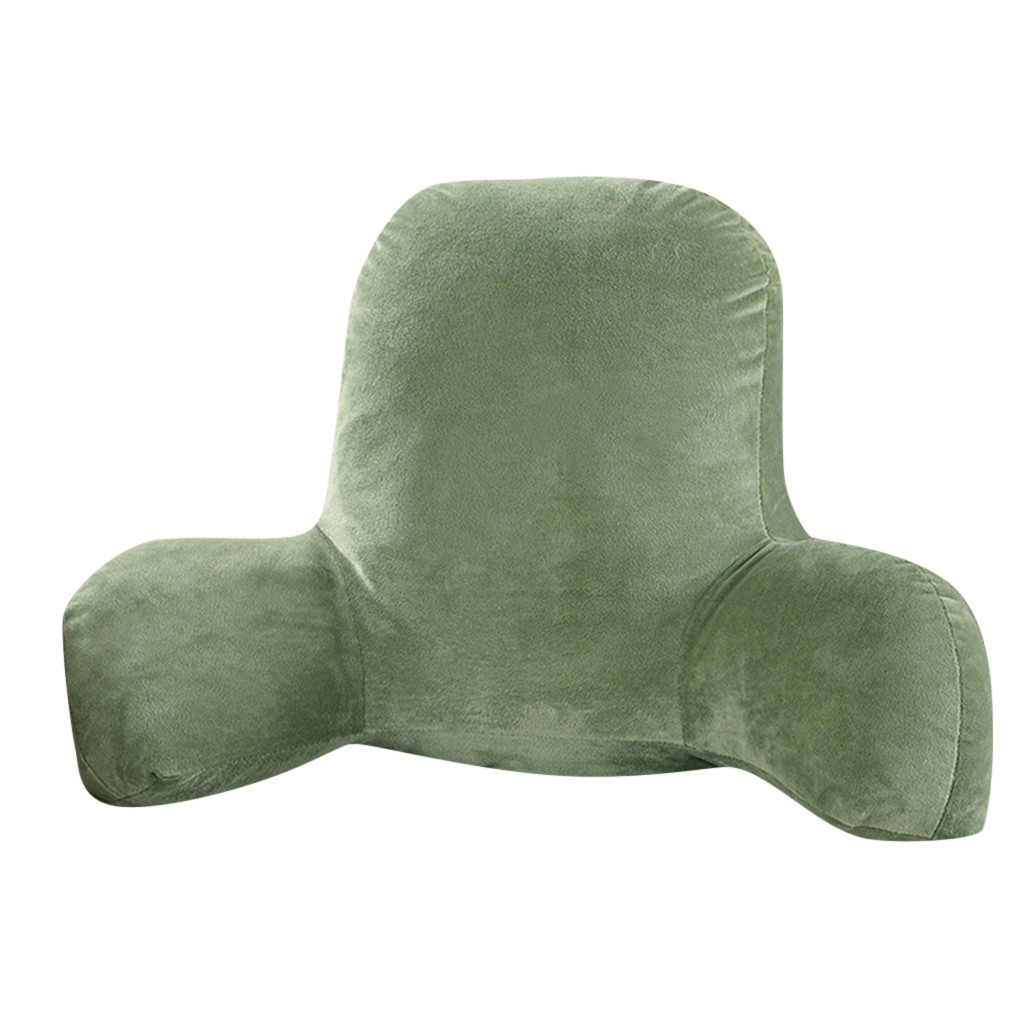 Husband Pillow and Back Pillow for Backrest and Lumbar Support with Arms and Zipper 1