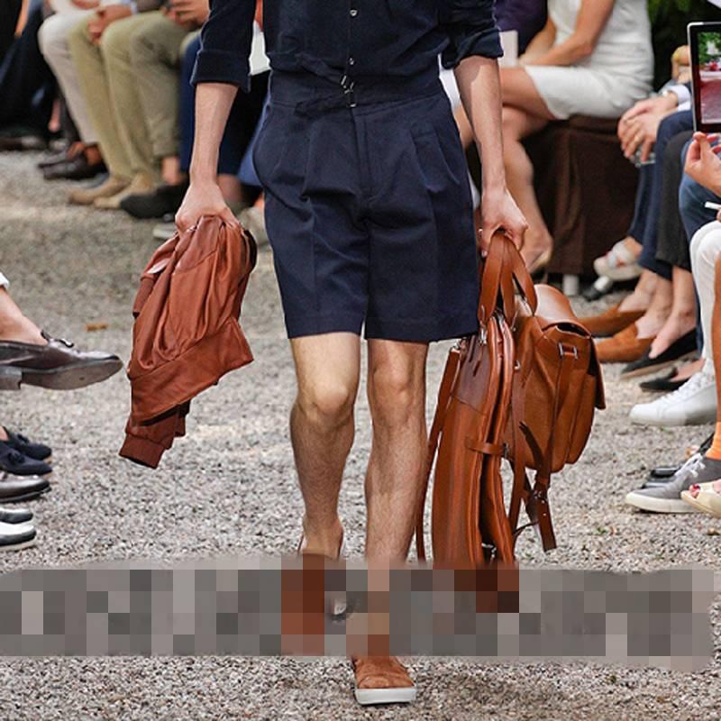 Шорты в рукавах летние тонкие Рабочие Комбинезоны Подиумные модели мужской комбинезон тонкий комбинезон