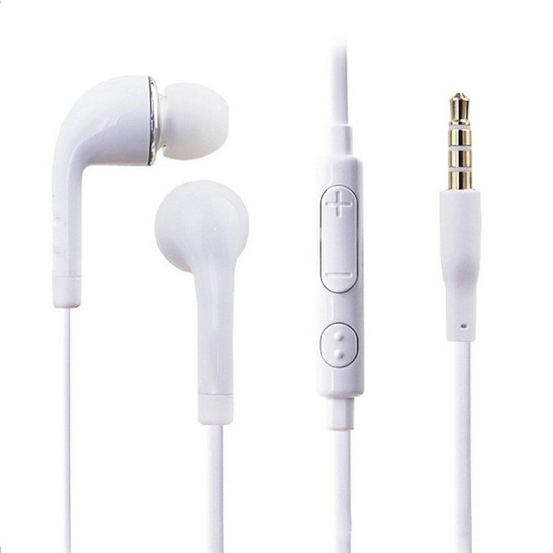 New Stereo Bass Earphone Headphone with Microphone Wired Gaming Headset for Phones Samsung Xiaomi Iphone Apple ear phone