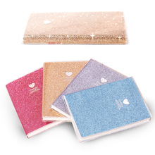 Cute Love PVC Notebook Paper Diary School Shiny Cool Kawaii Notebook Paper Agenda Schedule Planner Sketchbook Gift for Girl 2018 girly cute school notebook filler paper set a6 kawaii diary refill s for filofax dokibook agenda organizer 100 sheets