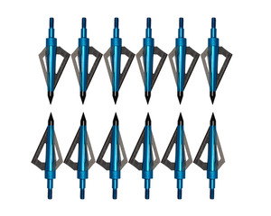 Image 4 - 12pcs 125 Grain Stainless Steel Archery Broadheads Sharp Arrow Head Hunting Arrow Tips for Shooting Compound Bow and Crossbow