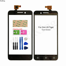 Mobile Touch Screen Panel For ONN V8 Tiger Touch Screen Digitizer Touch Panel Front Glass Tools 3M Glue Wipes