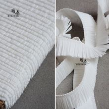 Кружевная отделка Аксессуары французский белой полосой Ленточки