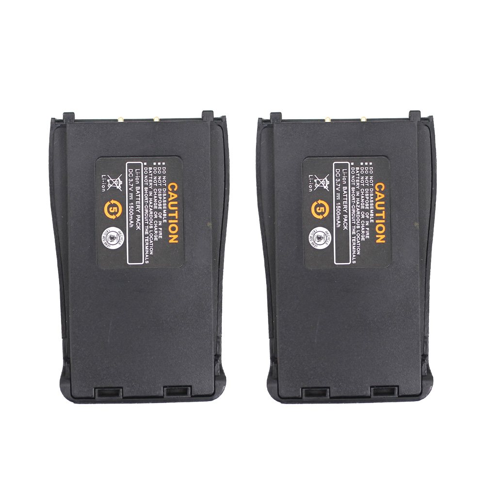 2 pièces Baofeng BF-888S 3.7V 1500mah Li-ion batterie de rechange pour Baofeng BF-888S BF-666S BF-777S talkie-walkie H-777 Batteries Radio