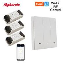 Makerele Wireless Smart Switch WIFI 433Mhz household appliances Remote Control DIY switch RF Transmiter Receiver