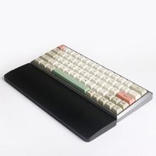 Деревянная подставка под запястье, подставка под запястье, ручная подставка для механической клавиатуры, игровая клавиатура 61 87 104 клавиш д...