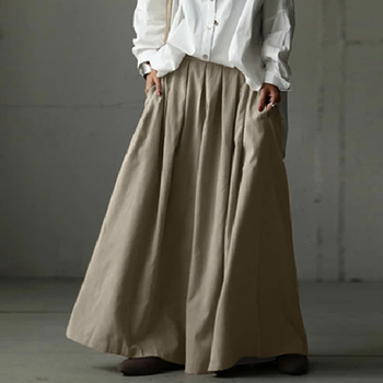 Elastic Waist Wide-Leg Trousers ZANZEA Women Summer Loose Pleated Pants Casual Plain Hose Oversized Plus Size Pantalon Palazzo 9