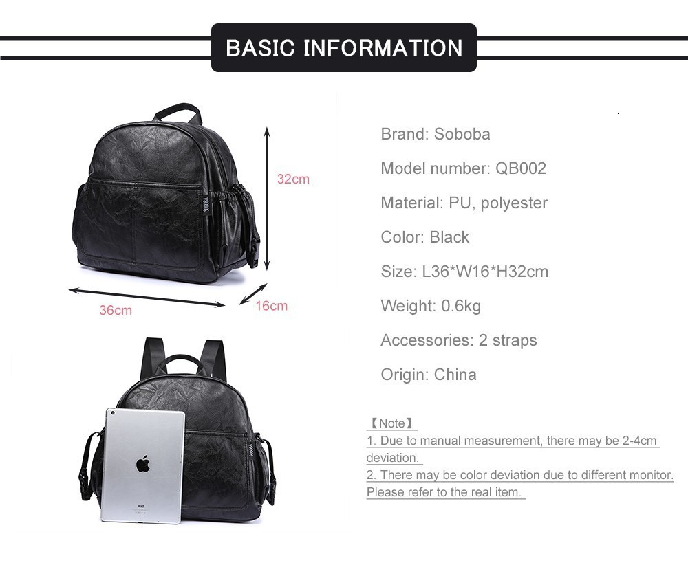 H7832b21d264340c9adc5ad8e7633562fr Fashion Maternity Nappy Changing Bag for Mother Black Large Capacity Fashion Diaper Bag with 2 Straps Travel Backpack for Baby