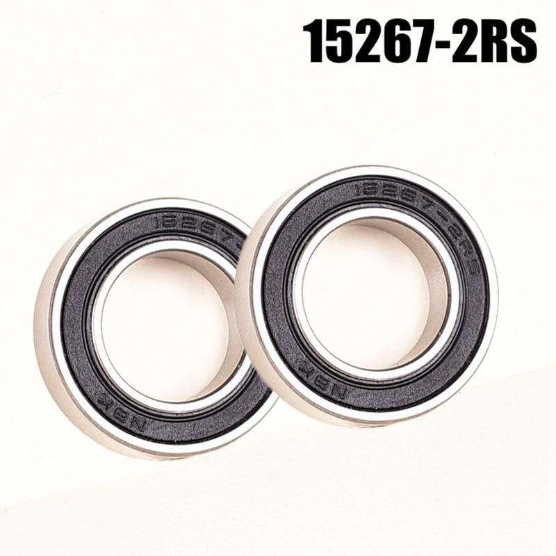 2pcs 17287-2RS Cycling Bicycle Metal Hub Hybrid Ceramic Bearing Kit For KOOZER