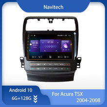 Gps Navigation Octa-Core-Radio Android Internal-Carplay for TSX 1024--600 WIFI