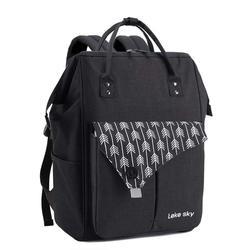 LekeskyFashion сумка для подгузников для беременных, Большая вместительная сумка для подгузников, дорожная сумка для мамы, рюкзак для ухода за реб...