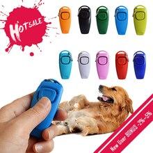Хит 2 в 1 милая форма свисток для собак кликер для собак тренерская помощь с кольцом для ключей тренировочный свисток для собаки товары для собак товары для домашних животных