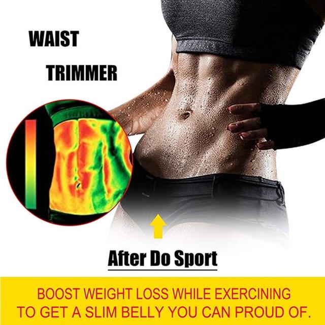 Neoprene Waist Trainer Body Shaper Belt Women Slimming Sheath Belly Reducing Shaper Tummy Sweat Shapewear Workout Shaper Corset 5