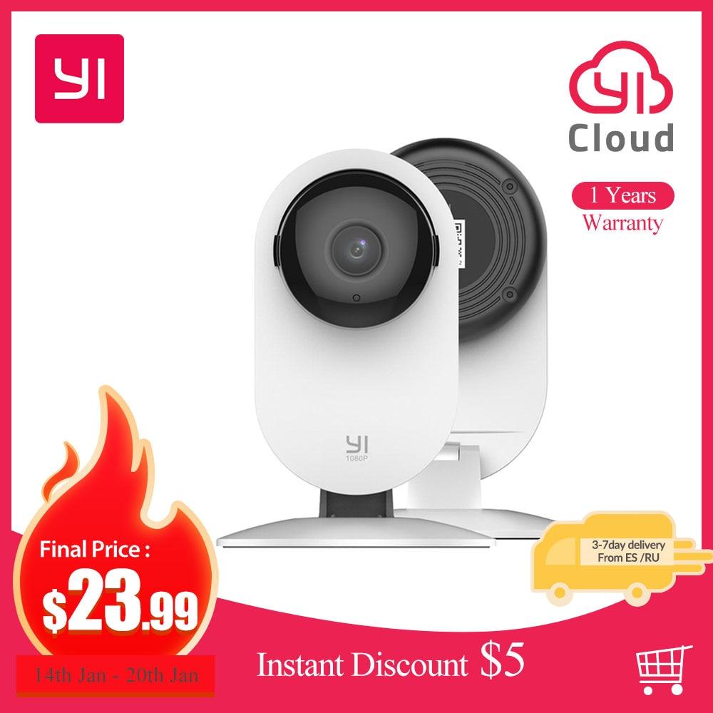 YI 1080p Hause Kamera Indoor IP Sicherheit Überwachung System mit Nachtsicht für Home/Büro/Baby/ nanny/Pet-Monitor Weiß