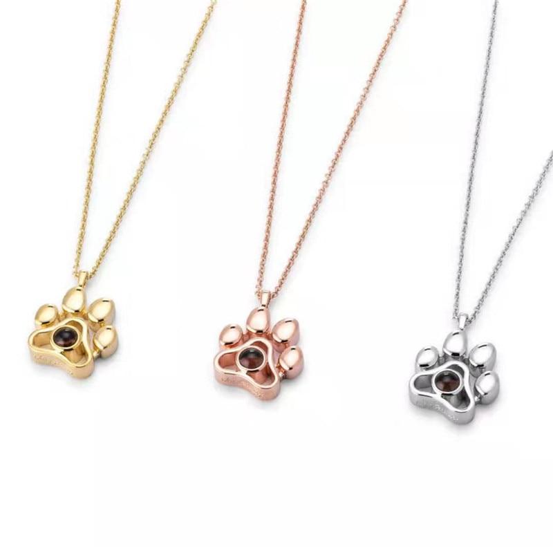 Pet Pawprint Necklace