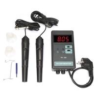 GTBL Eu Plug Ow 204 Digital Orp Temperature Control Monitor Meter Ph Monitor Meter 100 240V|Temperature Instruments| |  -