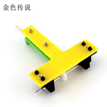 Т-образный конический редуктор задний осевой привод набор(желтый) diy система рулевого управления изменение направления передачи конической передачи