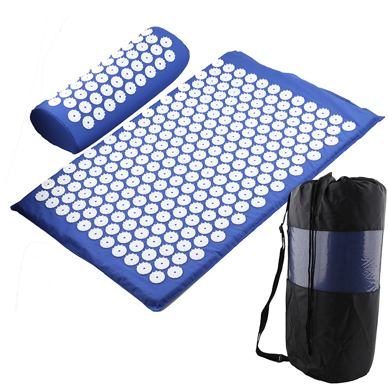 Discount^Cushion Spike-Mat Massager Acupuncture Yoga-Mat Relieve-Stress Pain Back-Body