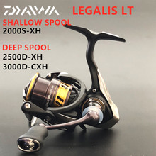 New Daiwa Legalis LT 2000S XH Shallow spool 2500D XH 3000D CXH DEEP SPOOL Spinning Fishing Reel high gear ratio 6.2:1