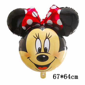 Giant Mickey Minnie Mouse Balloons Disney cartoon Foil Balloon Baby Shower Birthday Party Decorations Kids Classic Toys Gifts 40