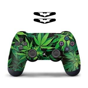 Image 4 - Para sony ps4 controlador camuflagem vinil pele adesivo capa pele para playstation 4 gamepad decalque joystick controle