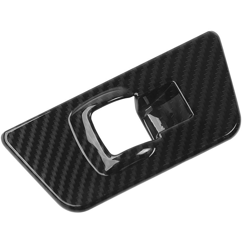 Carbon Fiber Window Lift Panel Switch Covers Trim For Ford F150 2015 2016 2017