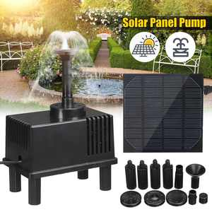 Water-Pump-Kit Fountain Solar-Panel Bath-Pond for Bird 7V Floating