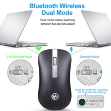 Rechargeable Wireless Bluetooth Mouse