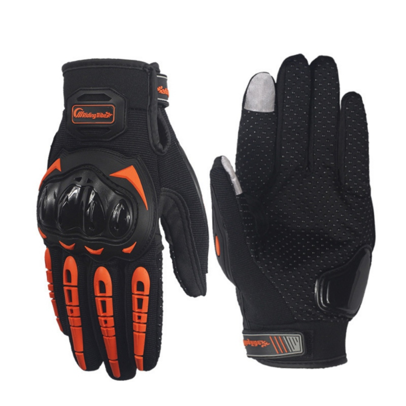 New Riding Cycling Gloves Full Finger Cover Anti-slip Motorcycle Driving Gloves Touch Screen Cold Weather Warm Gloves