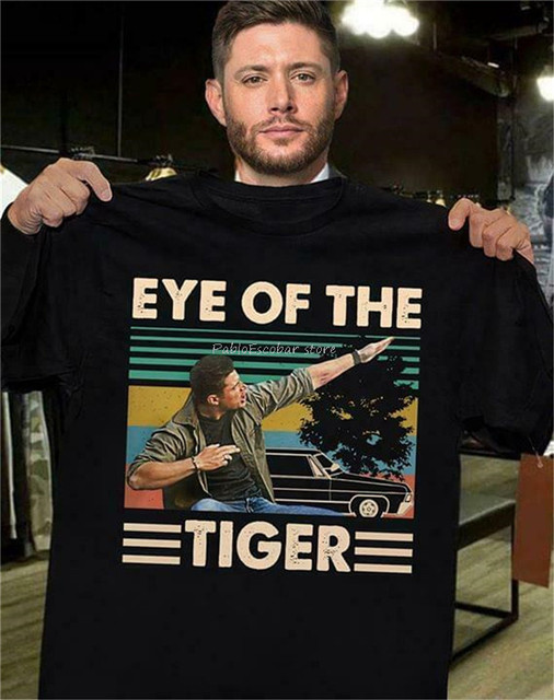 Supernatural Eye Of The Tiger Vintage Retro Casual Tee