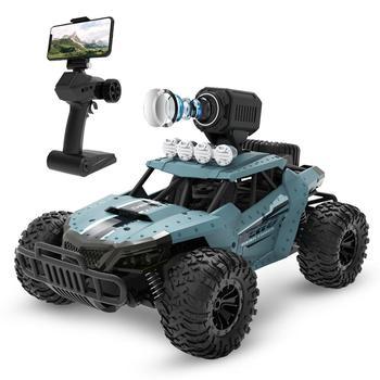 цена на Deerc DE36W Wifi RC Car With Camera HD 720P FPV RC Car Toys For Children 20KM/H High-Speed Drift Racing Truck Vehicle Buggy