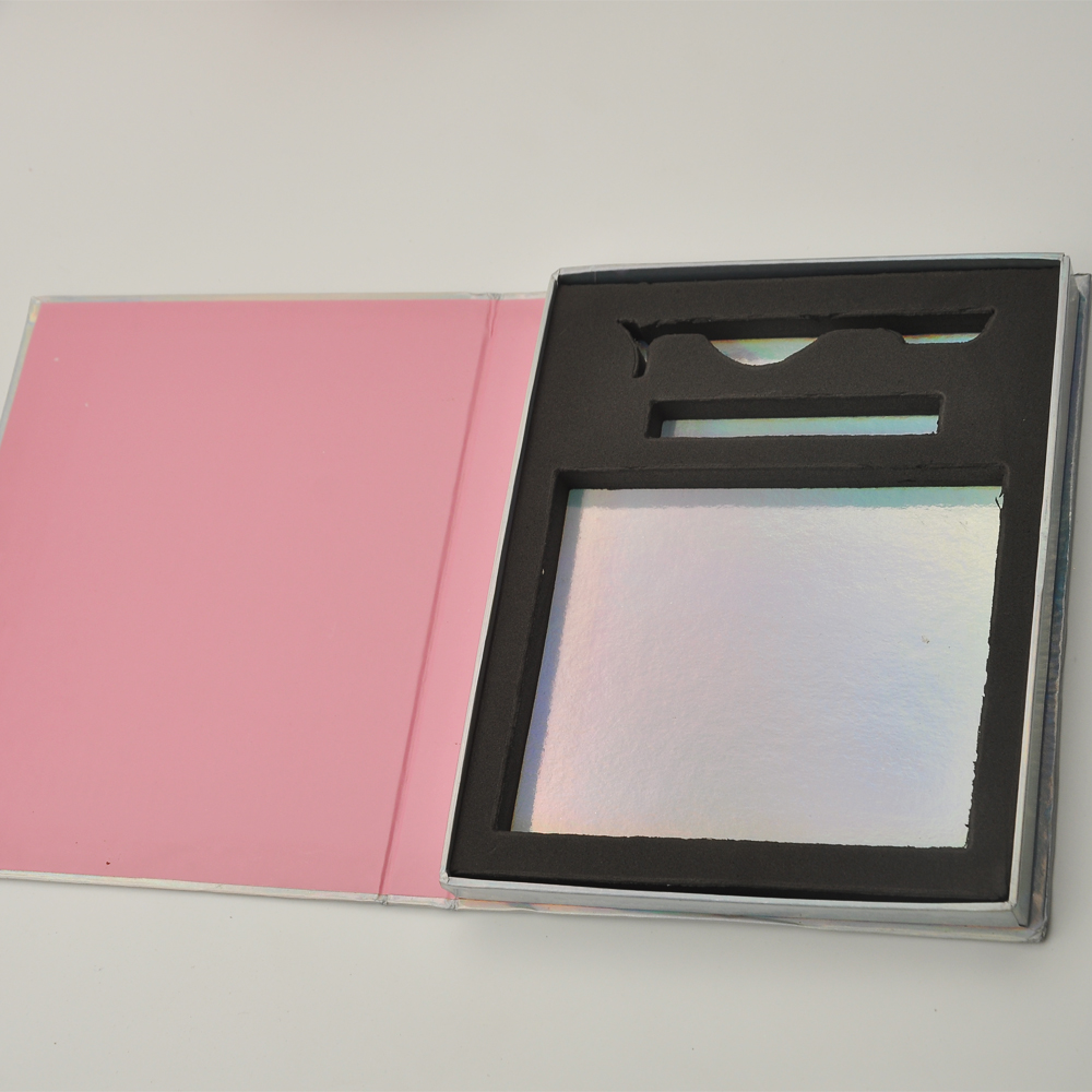 Wholesale Sample Of Eyelash Packaging Box Lash Boxes Packaging Custom Logo Faux Mink Lashes Strip Empty Case Bulk Vendors