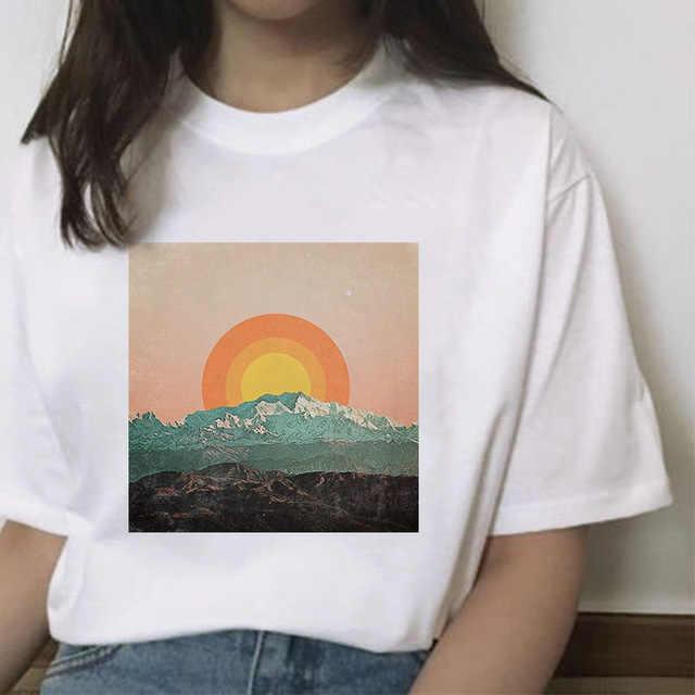 ZOGANKIN yaz kadın Tshirt japon tarzı t-shirt kadın Harajuku üstleri Tee gevşek moda bayan t-shirt giyim Femme
