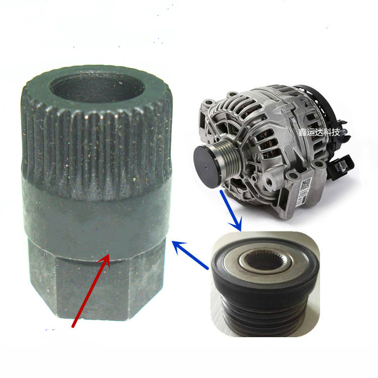 Car repair generator pulley removal special tools 3400 for Volkswagen Audi Mercedes BMW Volvo Ford