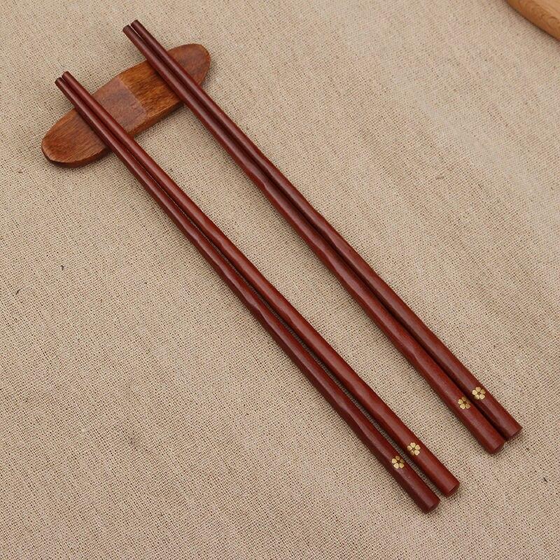 2 шт деревянные палочки для еды с вишней