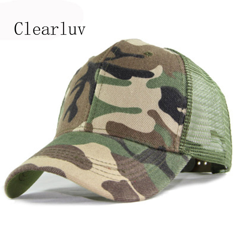 Mens Baseball Caps Gorros Camouflage Army Cap Bone Adjustable Hat Outdoors Cap Male