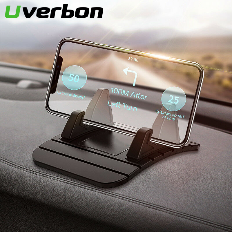 Phone Holder Bracket Car Dashboard Stand Non-slip Rubber Mat Phone Mount Holder For Huawei IPhone Samsung Xiaomi Phone Stand