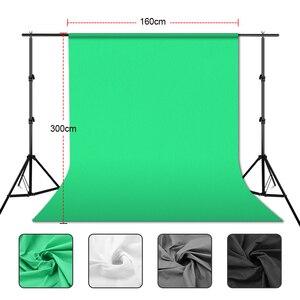 Image 3 - ZUOCHEN خلفية كروما 2 × 2 متر لاستوديو الصور ، أسود ، أبيض ، أخضر ، مجموعة دعم خلفية للتصوير الفوتوغرافي ، فيديو يوتيوب