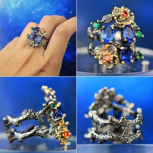 Image 4 - DreamCarnival 1989 Gorgeous Women Ring Infinity Color Stone Vintage Jewelry Chic Fashion Anniversary Wife Gift Must Have WA11672