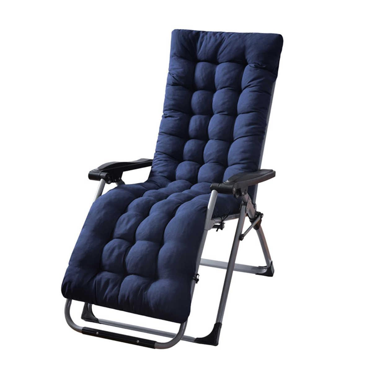 170*53*8cm solide long coussin tapis pour inclinable à bascule chaise en rotin pliant épais jardin soleil salon siège coussin canapé Tatami tapis