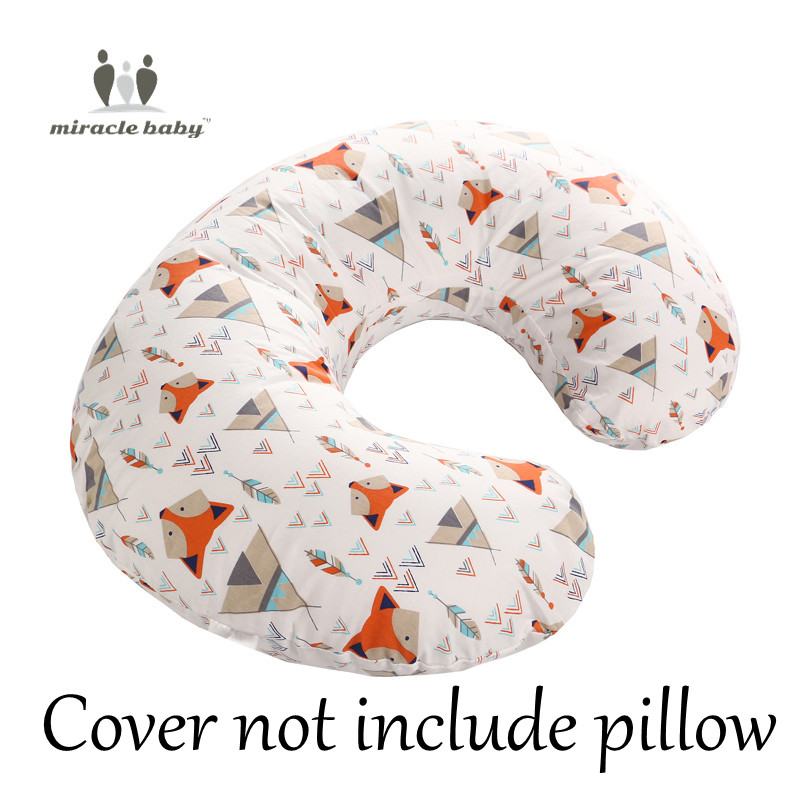 Baby Nursing Pillow Head Protection Cushion Baby Bedding Nursing Pillow Toddler Sleep Positioner Anti Roll Cover Slipcover