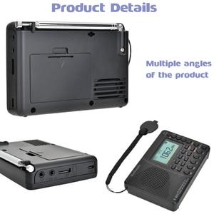 Image 5 - JINSERTA ใหม่ FM/AM/SW วิทยุ Multiband เครื่องรับวิทยุแบบพกพา REC บันทึกเสียงเบส MP3 Player ลำโพง sleep TIMER