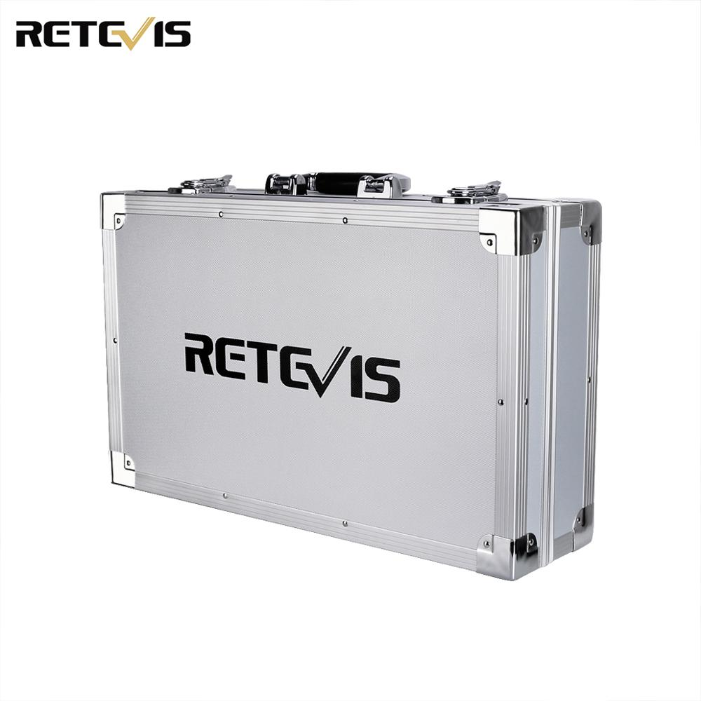 Protective Retevis Case Handeld Storage Box For Repeater RT97 Walkie-talkie RT29,HD1,RT76 DMR Digital Radio Metal Protect C9909A