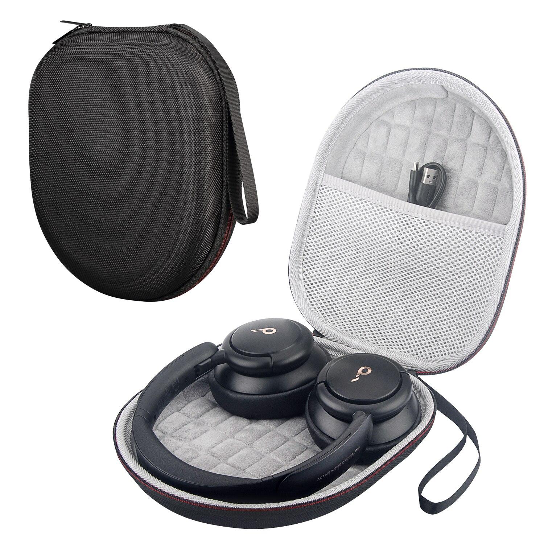 Zopore duro eva viagem saco de transporte armazenamento caso capa para anker soundcore vida q30 híbrido ativo cancelamento ruído fones de ouvido