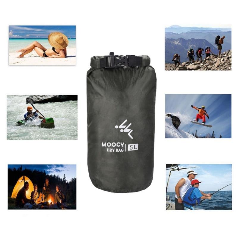 5L/20L/50L Waterproof Dry Bag Roll Top Sack Kayaking Rafting Boating Swimming Dry Organizer Beach Fishing Storage Bag Outdoor Ca