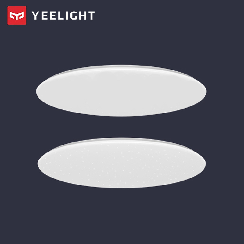 2pcs Yeelight JIAOYUE 480 Modern Smart LED Ceiling Light Smart APP Bluetooth Control Indoor Lighting 220V With Remote Controller