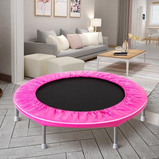 38 inch Durable Round Trampoline  2