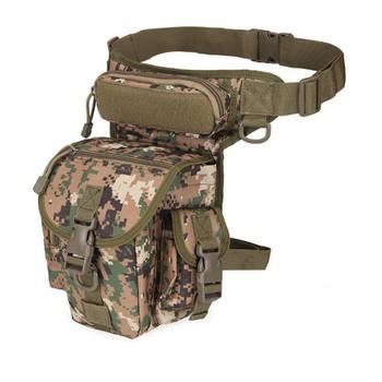 Taktyczna wojskowa nóżka stojak torba z narzędziami Fanny uda opakowanie torba myśliwska saszetka biodrowa jazda motocyklem mężczyźni wojskowy saszetka biodrowa s 1PC tanie i dobre opinie Clyine CN (pochodzenie) Polowanie oxford