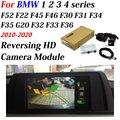 Автомобильная камера заднего вида для BMW 1 2 3 4 серии F20 F22 F30 F45 2010-2020 HD камера заднего вида для парковки оригинальный экран обновления декодер