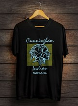 Vintage Molto Raro Charlie Cunningham Indiano T Shirt in jersey Mountain Bike S-XXL(China)